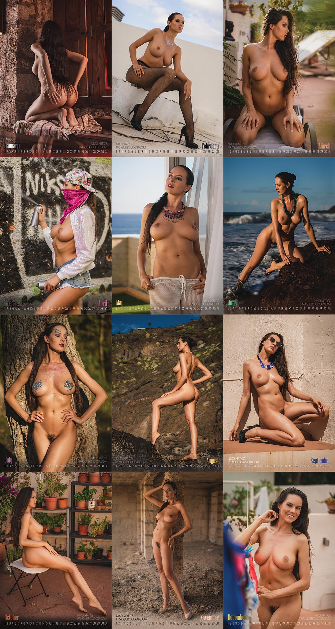 Comicbookgirl19 Nude Calendar